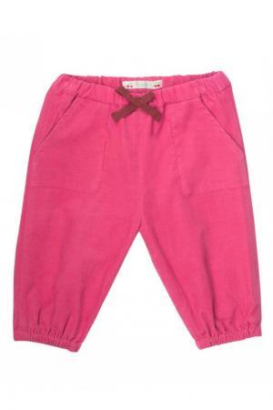 Розовые брюки в рубчик Bonpoint. Цвет: none
