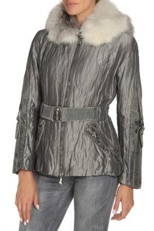 Куртка Fontanelli. Цвет: серый, серебряный