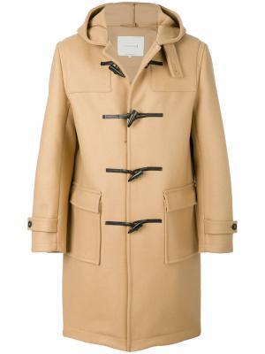 Классическое пальто Mackintosh. Цвет: коричневый