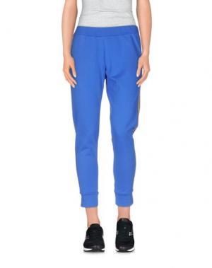 Повседневные брюки MARIUCCIA. Цвет: синий