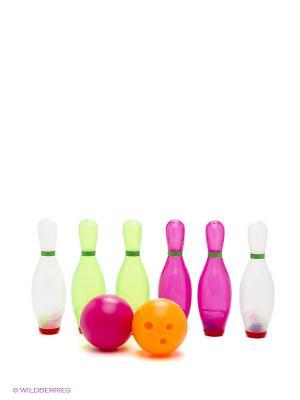 Набор для боулинга: мячи+кегли FN-BW140211 Far&Near. Цвет: синий, зеленый, красный, желтый