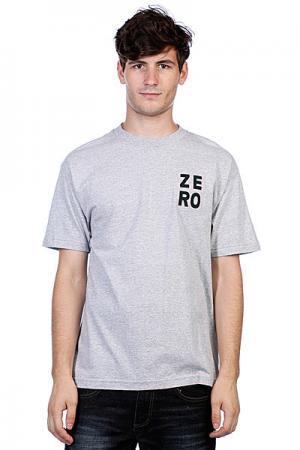 Футболка  Numero Grey Zero. Цвет: серый