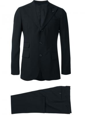 Классический костюм Gabriele Pasini. Цвет: чёрный