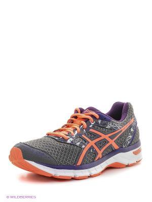Спортивная обувь GEL-EXCITE 4 ASICS. Цвет: серый, белый, коралловый