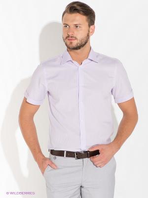Рубашка BAZIONI. Цвет: сиреневый