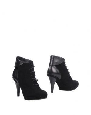 Полусапоги и высокие ботинки DEIMILLE. Цвет: черный