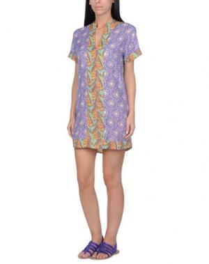 Пляжное платье BLUGIRL BLUMARINE BEACHWEAR. Цвет: фиолетовый