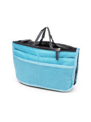 Органайзер в сумку MimiForme. Цвет: голубой