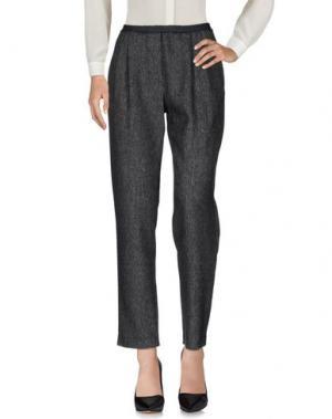 Повседневные брюки CARLO CONTRADA. Цвет: стальной серый
