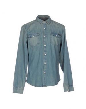Джинсовая рубашка DICKIES. Цвет: синий