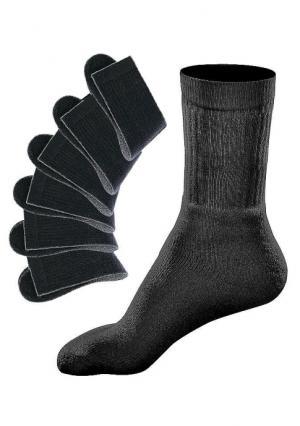 Спортивные носки, 6 пар GO IN. Цвет: белый, черный