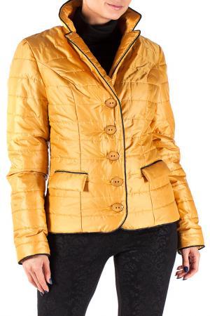 Куртка Mannon. Цвет: желтый