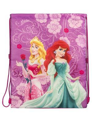 Мешок для обуви. Disney Princess. Цвет: розовый