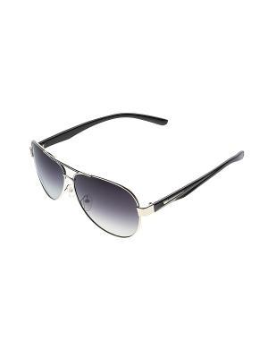 Солнцезащитные очки Infiniti. Цвет: серебристый, черный
