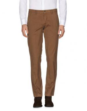 Повседневные брюки MANUEL RITZ WHITE. Цвет: хаки