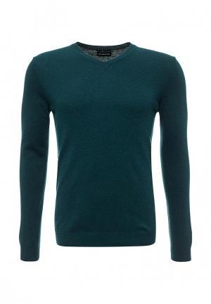 Пуловер Sisley. Цвет: зеленый