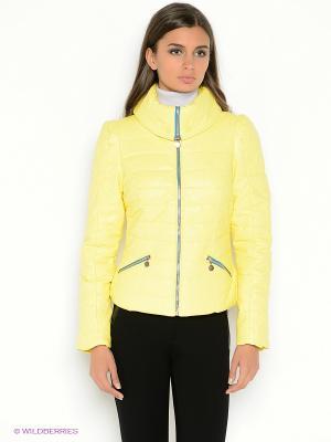 Куртка CONVER. Цвет: желтый