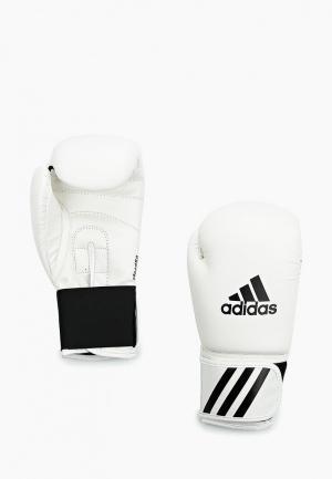 Перчатки боксерские adidas Combat. Цвет: белый