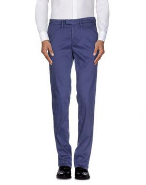 Повседневные брюки HAIKURE. Цвет: фиолетовый