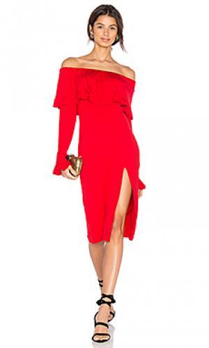 Платье edita VAVA by Joy Han. Цвет: красный