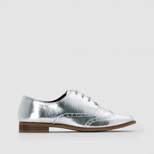 Ботинки-дерби на шнуровке R édition. Цвет: серебристый