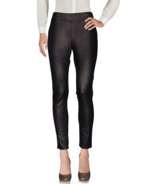 Повседневные брюки LE TRICOT PERUGIA. Цвет: темно-коричневый