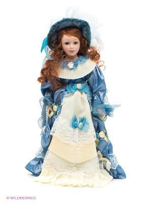 Кукла фарфоровая Маргарет Lisa Jane. Цвет: синий