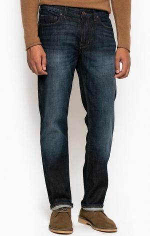 Зауженные джинсы с низкой посадкой Marc O'Polo. Цвет: синий