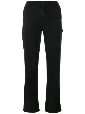 Прямые брюки Carhartt. Цвет: чёрный