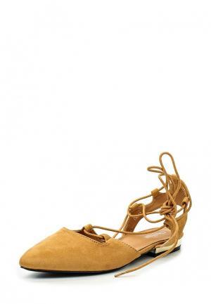 Туфли Chic Nana. Цвет: коричневый