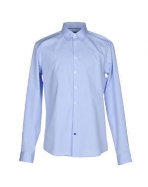 Pубашка TIGER OF SWEDEN. Цвет: небесно-голубой