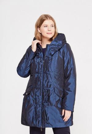 Куртка утепленная J-Splash. Цвет: синий