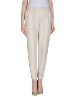 Повседневные брюки CLOTILDE. Цвет: светло-серый