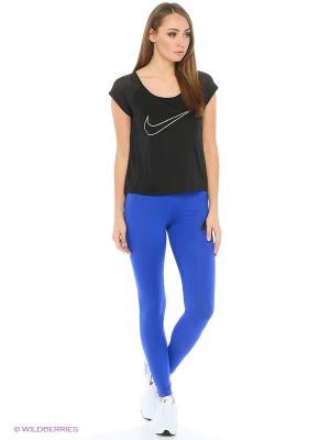 Леггинсы W NSW LGGNG Nike. Цвет: синий