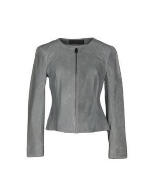 Куртка ENES. Цвет: серый