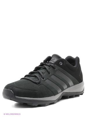 Кроссовки Daroga Plus Lea Adidas. Цвет: черный