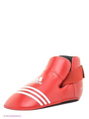 Защита стопы Super Safety Kicks Adidas. Цвет: красный