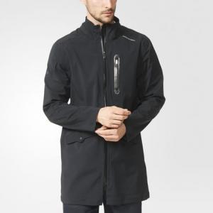 Пальто Travel  Porsche adidas. Цвет: черный