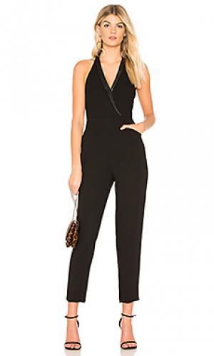 Tuxedo jumpsuit in black BCBGeneration. Цвет: черный