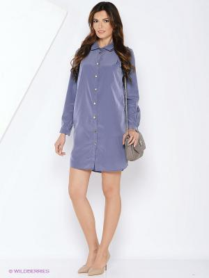 Платье MARBI. Цвет: фиолетовый