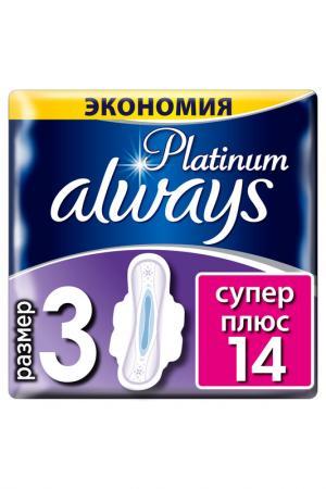 Гигиенические прокладки, 14 шт ALWAYS. Цвет: none