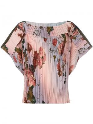 Блузка Misa Antonio Marras. Цвет: многоцветный