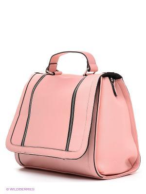 Сумка Pieces. Цвет: бледно-розовый