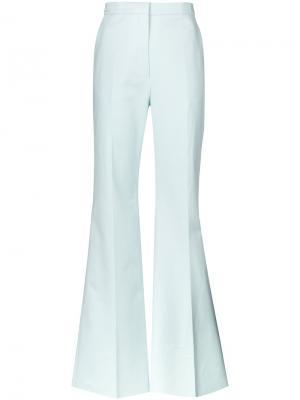 Широкие брюки Rochas. Цвет: синий