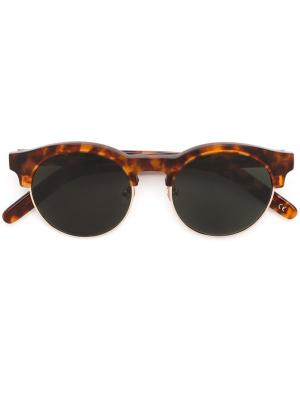 Солнцезащитные очки Smith Han Kjøbenhavn. Цвет: коричневый