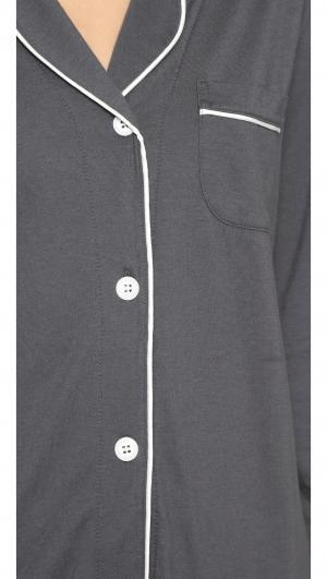 Bella Long Sleeve Top & Pant PJ Set Cosabella