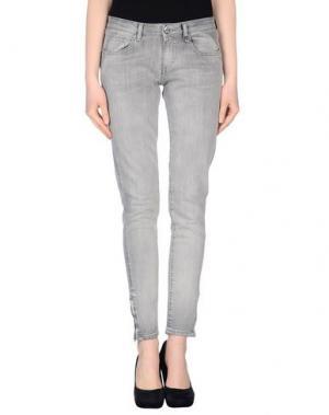 Джинсовые брюки FIORUCCI. Цвет: черный