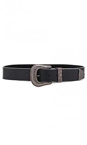 Поясной ремень frank B-Low the Belt. Цвет: черный