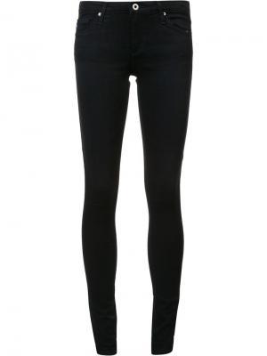 Джинсы скинни с заниженной талией Ag Jeans. Цвет: чёрный