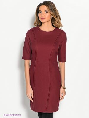 Платье ZENDRA. Цвет: бордовый
